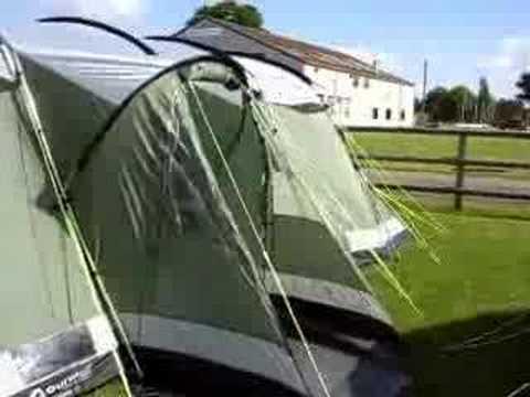 Outwell Montana 12 Tent & Outwell Montana 12 Tent - YouTube