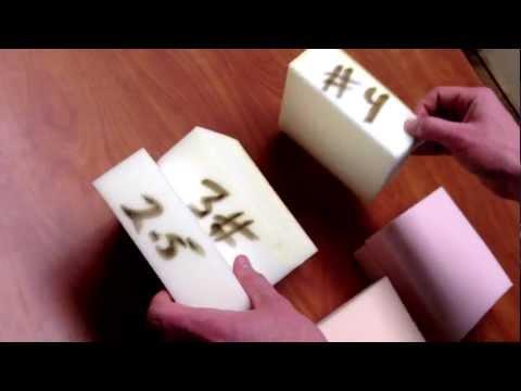 FXI Memory Foam Samples