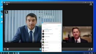 How to arrange an invitation-only meeting   U Meeting Tutorial screenshot 4