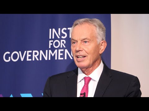 Tony Blair keynote speech