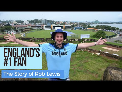 The Inspiring story of Rob Lewis - England Cricket's ONLY FAN in Sri Lanka thumbnail