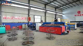 3-6mm BRC Welded Wire Mesh Machine In Rolls