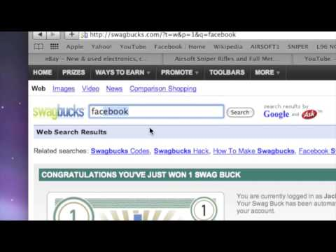 How to Earn SwagBucks by Searching the Internet - YouTube