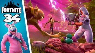 Build a Giant Rabbit! Fortnite save the world #34