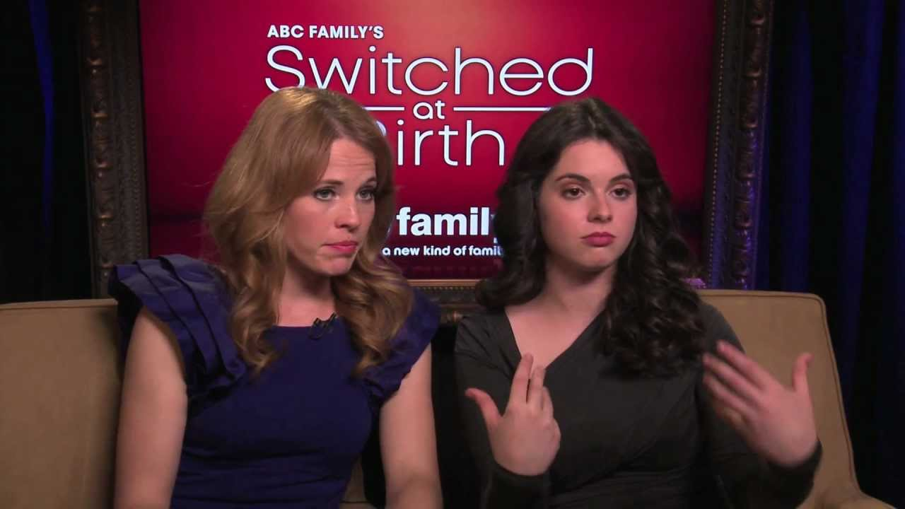 Switched at Birth - Integrating Sign Language - YouTube