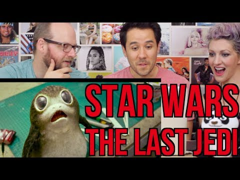 STAR WARS - THE LAST JEDI - Behind the Scenes - REACTION!!