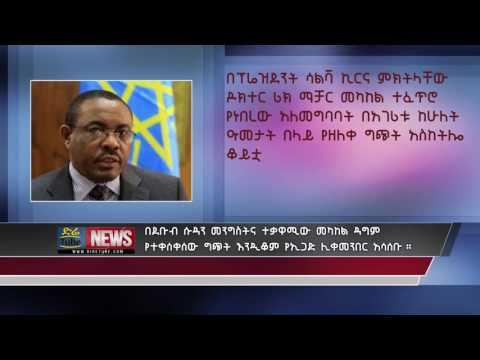 Chair of IGAD : South Sudan government and the opposition to stop the conflict between them