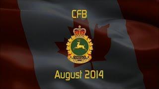 2014 | CFB Shilo - Fahrt über die Base im August 2014 in HD