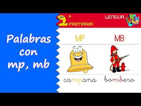 Lengua Castellana. 2º Primaria. Tema 11. Ortografía: mp, mb, nv