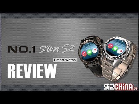 No.1 Sun S2 Review Test Deutsch - Günstige China Smartwatch (gizchina.de)