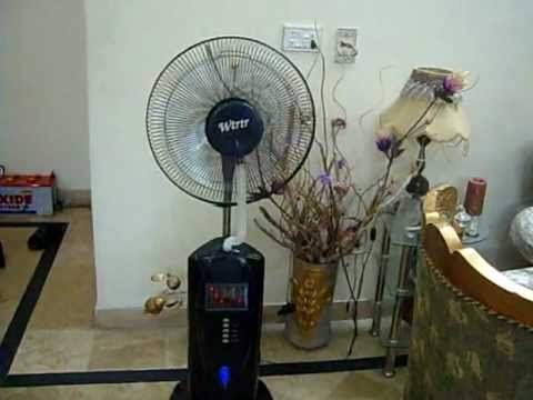 Water Mist Fan Pakistan Youtube