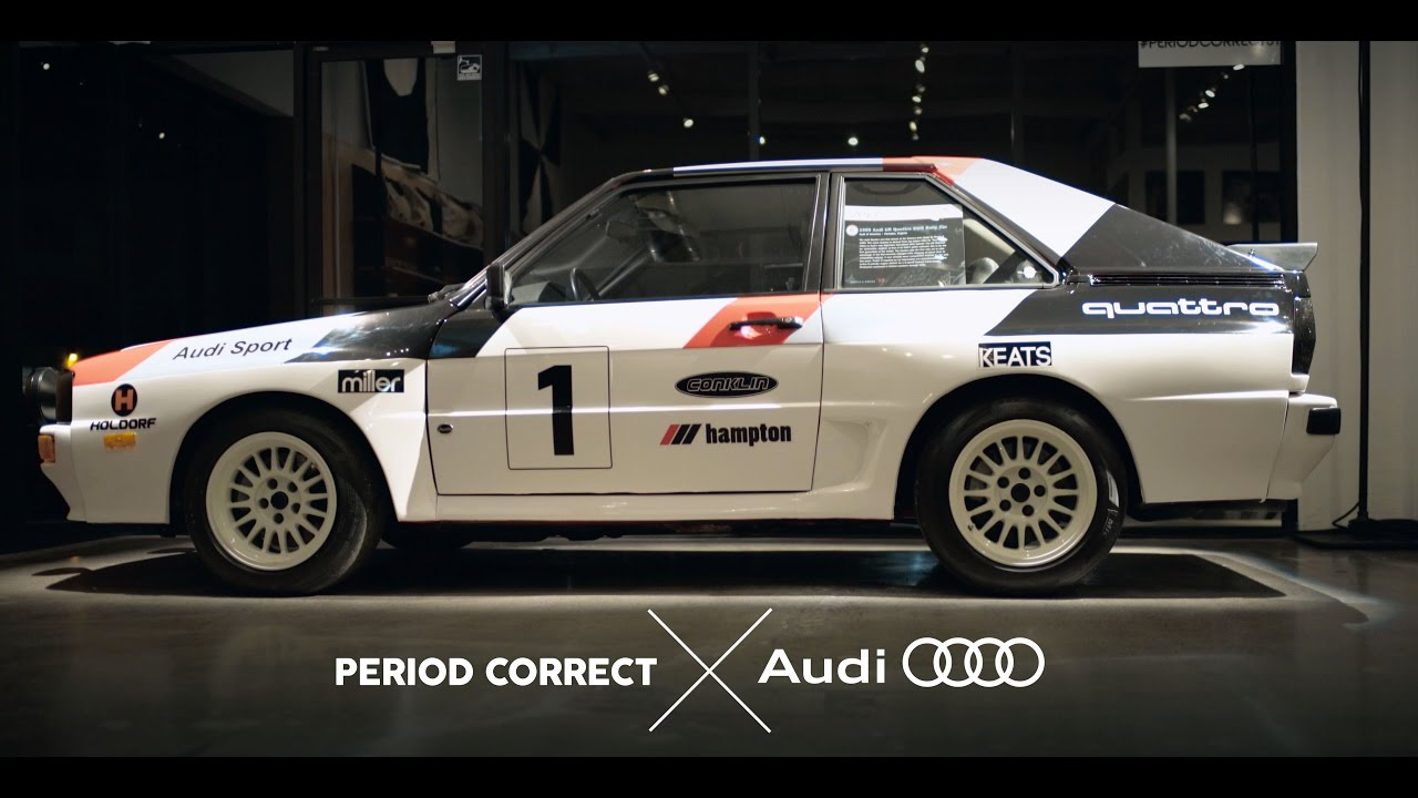 Period Correct X Audi Collection Donut Media YouTube - Audi collection