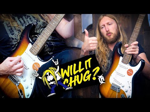 WILL IT CHUG?  Squier Bullet Stratocaster