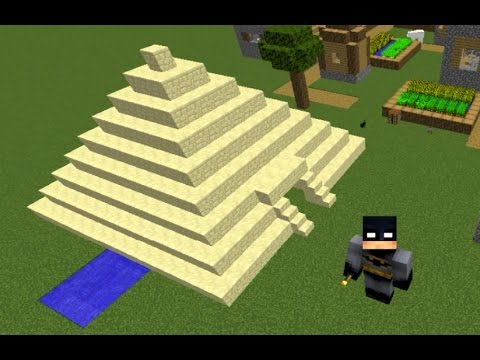 Minecraft How To Make An Ancient Egyptian Pyramid By Mceq Youtube