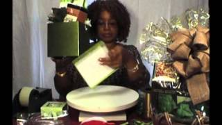 Adding a Box Lid to Your Gift Basket Container