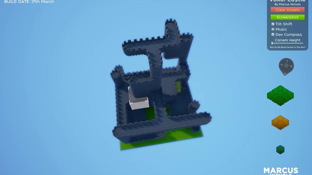 UE4 Voxel Castle - Prototype