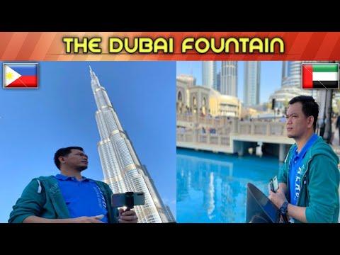 DUBAI FOUNTAIN – BURJ KHALIFA LIGHTSHOW | EJ DE LEON