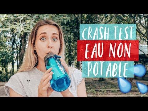 CRASH TEST : Boire l'eau non potable avec un objet révolutionnaire 💧