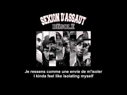 Désolé   Sexion d'assaut   French and English subtitles