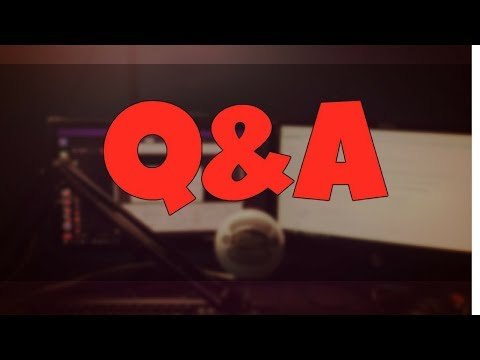 Q&A &  GIVEAWAY (To Participate - Comment Down After Live En