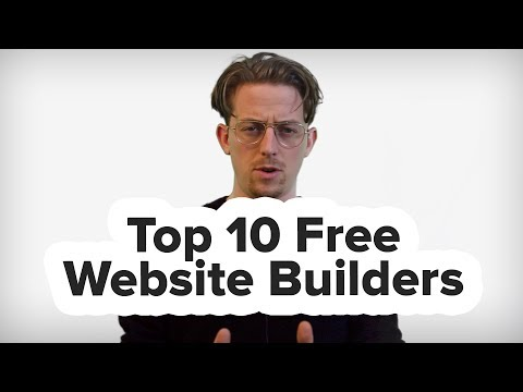 What's The Best Free Website Builder? (10 Free Website Builders in 4 Minutes)