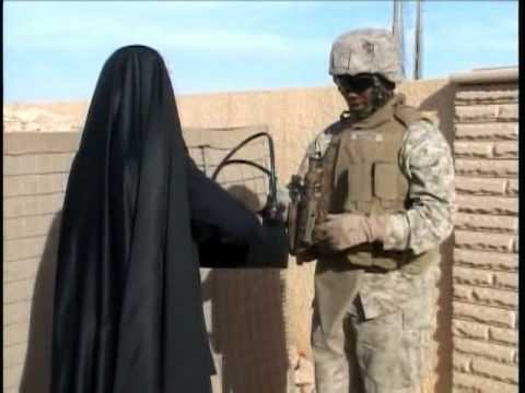 Life with female Marines Lioness in Haditha Iraq
