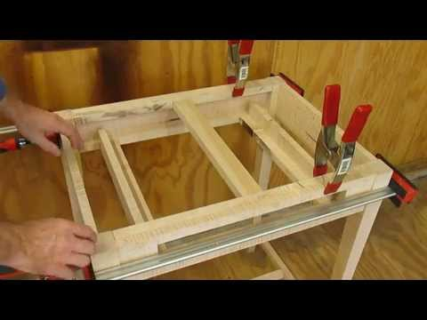 19th Century Clerks Desk   Stretchers & Glue Up Step 2