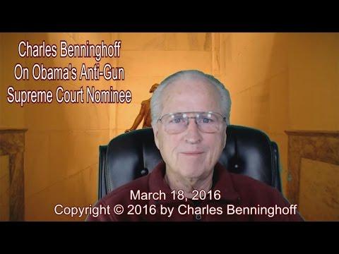 Charles Benninghoff: Nominee Threatens 2nd Amendment