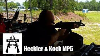 MP5 Submachine Gun at Kavod Custom Range Day
