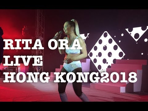 Rita Ora Billboard Radio Live 2018 in Hong Kong (Your Song, I Will Never Let You Down, Anywhere)