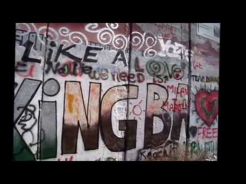 Banksy's Shop \u0026 Graffiti On The Wall, Bethlehem, West Bank