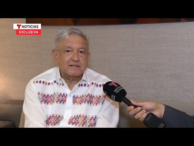 Entrevista con Noticias Telemundo