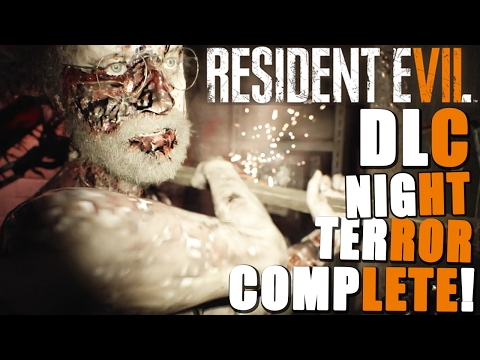 Resident Evil 7 NIGHT TERROR DLC COMPLETE ~ Nightmare Hard Mode! (Survive Until 5AM)