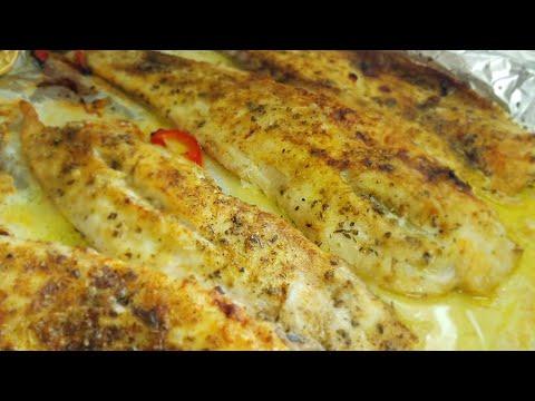 SUPER EASY OVEN BAKED FISH FILLET RECIPE | Fish Recipe #quarantinerecipe