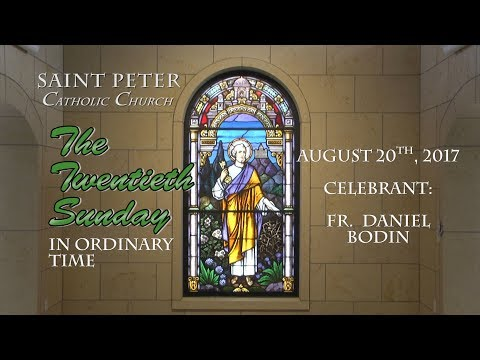 St  Peters Catholic Church 8-20-17
