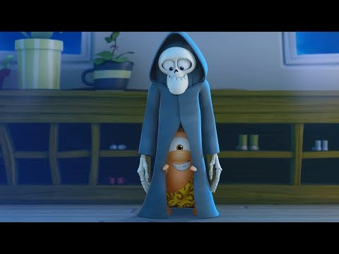 Funny Animated Cartoon | Spookiz | The Sub Teacher?! | 스푸키즈 | Cartoon For Children