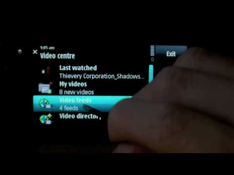 Video demo: Nokia XpressMusic 5800s media playback features