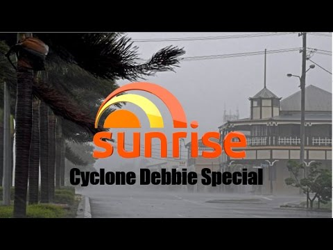 Channel 7 Sunrise Cyclone Debbie Special 28-03-17