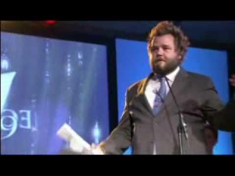 Tyler Labine Leo Acceptance Speech