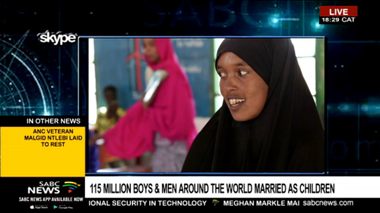 UN report show 115 million men, boys are in child marriages