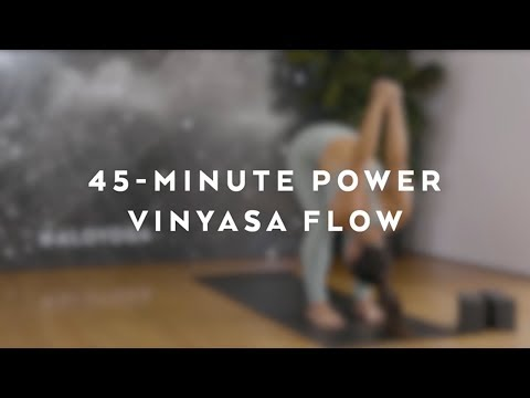 45-Minute Power Vinyasa Flow With Briohny Smyth
