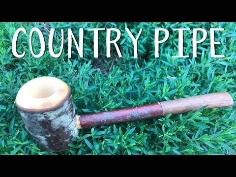 """A """"Hobbit Farmer"""" Pipe with Hand Tools"""