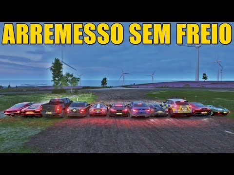 ARREMESSO SEM FREIO - FORZA HORIZON 4 - GAMEPLAY thumbnail