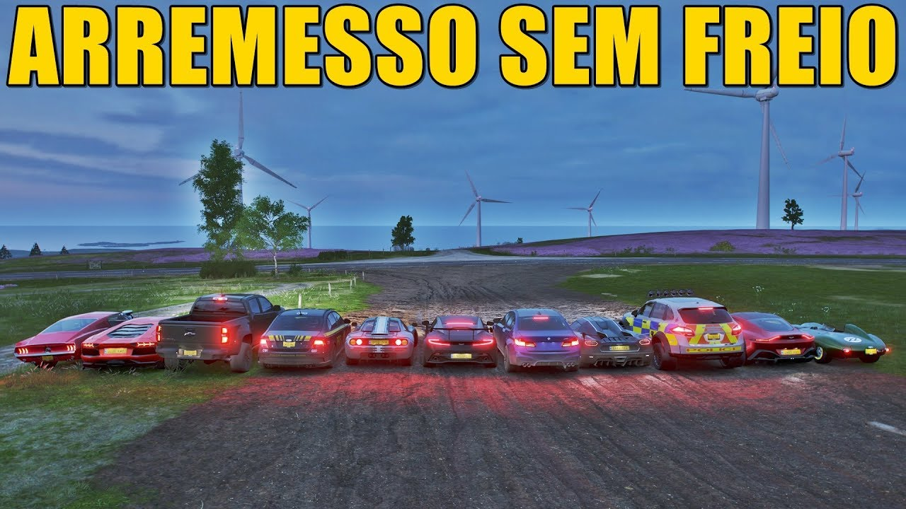 Download ARREMESSO SEM FREIO - FORZA HORIZON 4 - GAMEPLAY