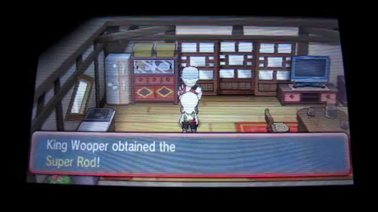 Super Rod How And Where To Get The Super Rod Pokemon