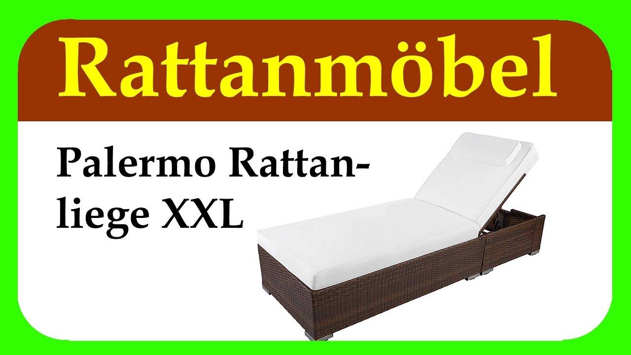 Rattanmöbel Palermo Rattanliege XXL | Hilfe Bei Der Suche Nach Der  Richtigen Gartenliege
