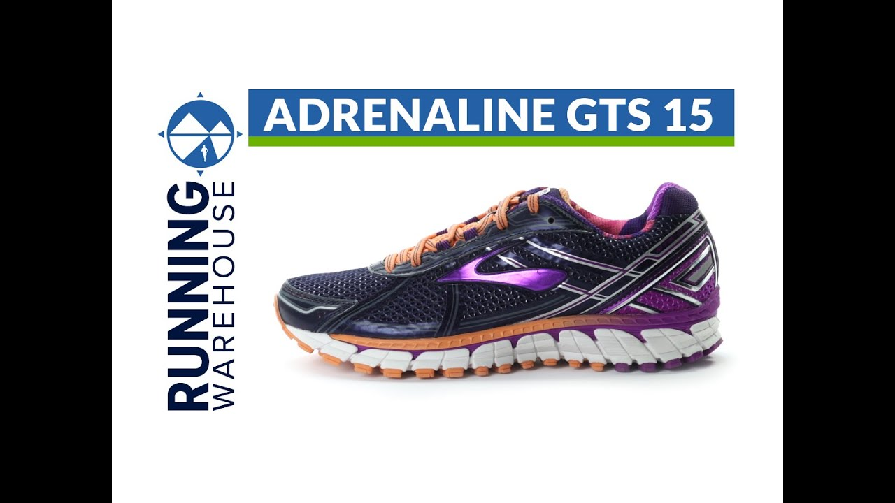 Brooks Adrenaline GTS 15 for women. Running Warehouse
