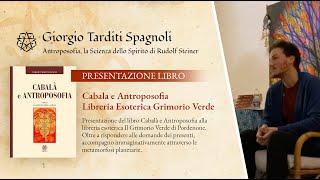"""Presentazione del Libro """"Cabala e Antroposofia"""" – Libreria Esoterica Grimorio Verde"""