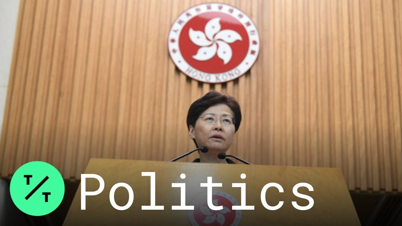 Bloomberg TIc Toc Hong Kong Leader Carrie Lam Announces 2 Initiatives After 11th Weekend of Protests
