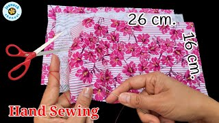 New Hand Sewing Face Mask Tutorial Easy Face Mask How to Make A Face Mask No Sewing Machine